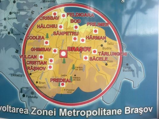 Zona metropoloitana Brasov